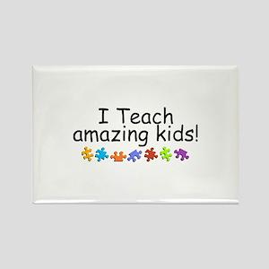 I Teach Amazing Kids Rectangle Magnet