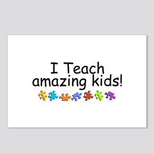 I Teach Amazing Kids Postcards (Package of 8)
