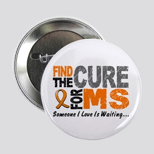 """Find The Cure 1 MS 2.25"""" Button"""