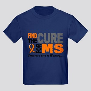 Find The Cure 1 MS Kids Dark T-Shirt