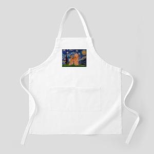 Starry / Poodle (Apricot) Apron