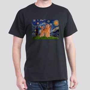 Starry / Poodle (Apricot) Dark T-Shirt