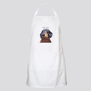 Angel Spotted Doxie BBQ Apron
