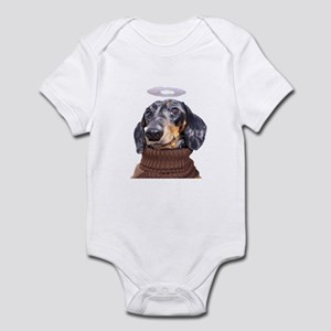 Angel Spotted Doxie Infant Bodysuit