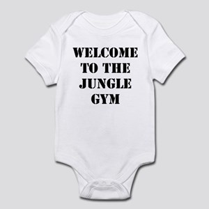 Welcome to the Jungle Gym Infant Bodysuit