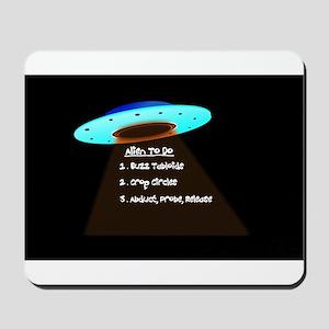 UFO To Do Mousepad