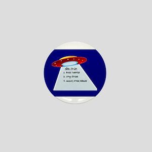 UFO To Do Mini Button