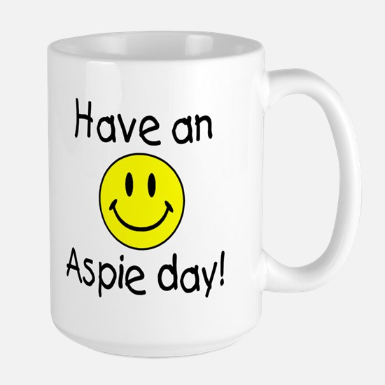 Have An Aspie Day Large Mug