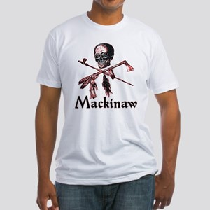 Mackinaw Pirate Mens Fitted T-Shirt