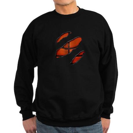 Baller At Heart Black Sweatshirt