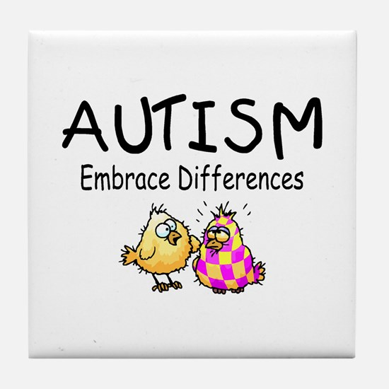 Embrace Difference Tile Coaster