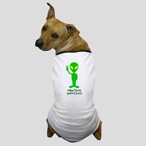 Greetings Earthlings Dog T-Shirt