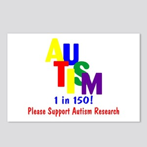 1 in 150 (Support Research) Postcards (Package of
