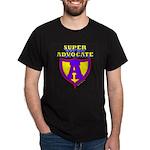 Super Advocate Black T-Shirt