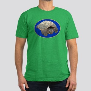 Snapping Turtle Men's Fitted T-Shirt (dark)