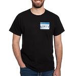 Ad-free I'm Dirty Black T-Shirt Design