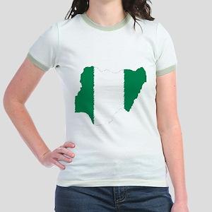 Vintage Nigeria Jr. Ringer T-Shirt
