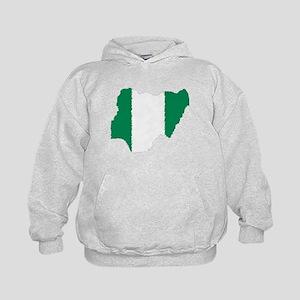 Vintage Nigeria Kids Hoodie