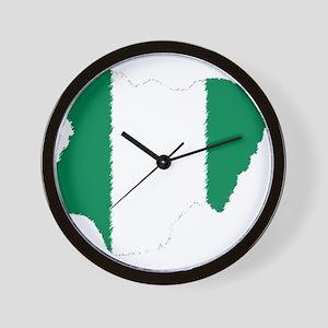 Vintage Nigeria Wall Clock
