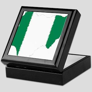 Vintage Nigeria Keepsake Box