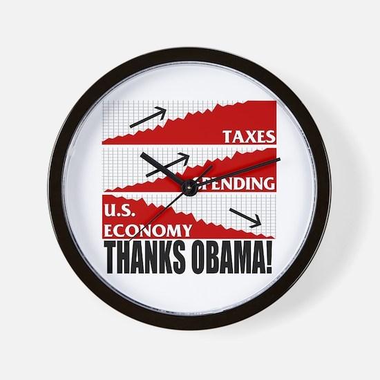 Obama Nomics Wall Clock