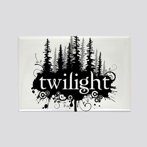 Twilight Rectangle Magnet