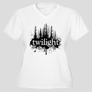 Twilight Women's Plus Size V-Neck T-Shirt