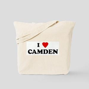 I Love CAMDEN Tote Bag
