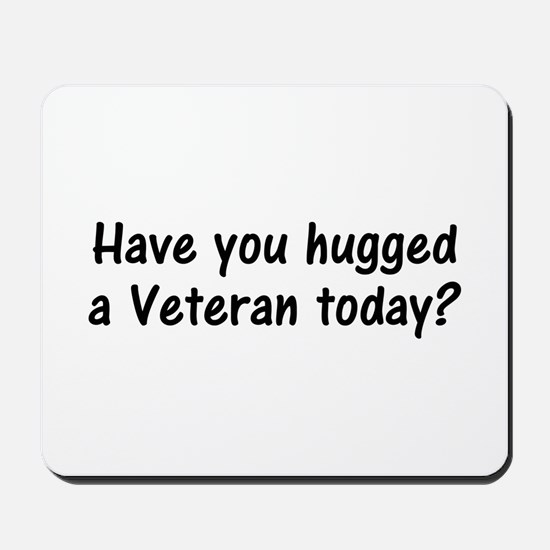 Hug A Veteran Gifts Mousepad