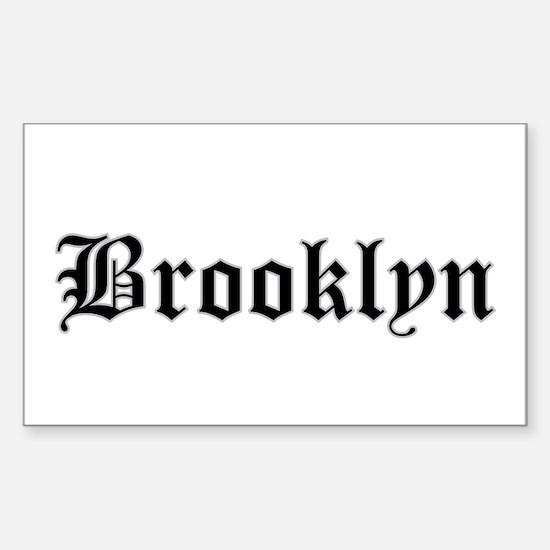 brooklyn - Rectangle Decal