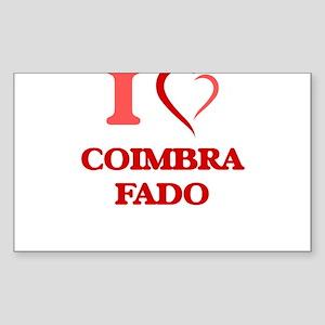 I Love COIMBRA FADO Sticker