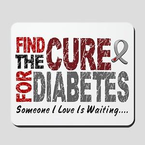 Find The Cure 1 DIABETES Mousepad