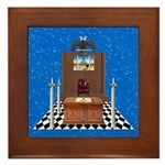 Masonic Sky Lodge Framed Tile