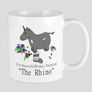 Witness Protection Unicorn/Rhino Mugs