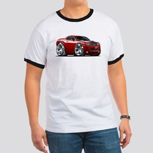 Challenger Maroon Car Ringer T