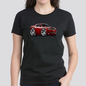 Challenger Maroon Car Women's Dark T-Shirt