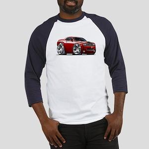 Challenger Maroon Car Baseball Jersey