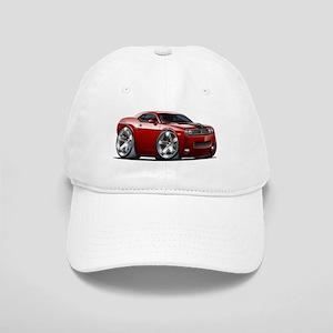 Challenger Maroon Car Cap