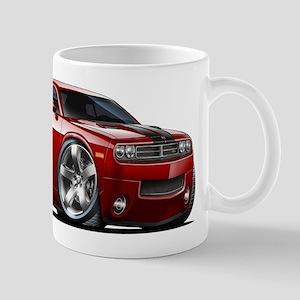Challenger Maroon Car Mug