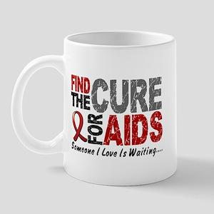Find The Cure 1 HIV AIDS Mug
