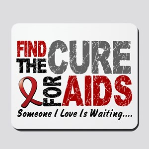Find The Cure 1 HIV AIDS Mousepad