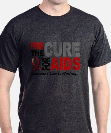 Find The Cure 1 HIV AIDS T-Shirt