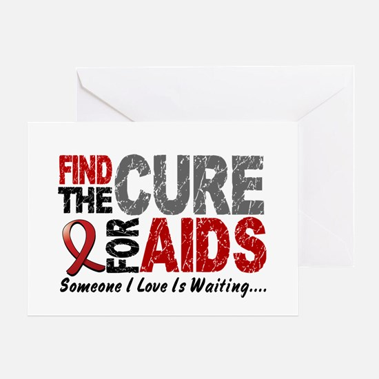 Find The Cure 1 HIV AIDS Greeting Card