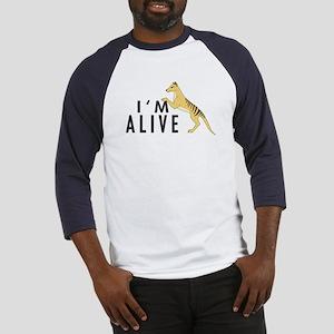 I'm Alive -- Thylacine Baseball Jersey