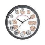 Small Change Wallclock