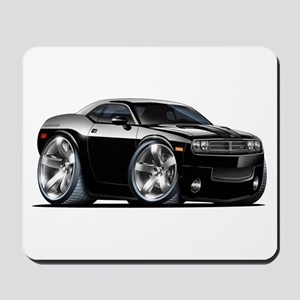 Challenger Black Car Mousepad
