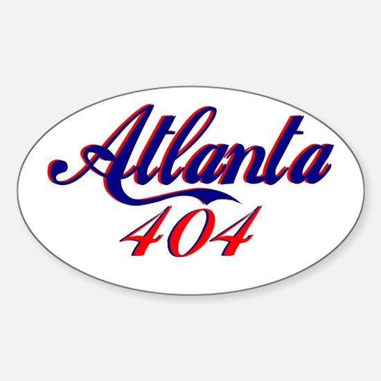Atlanta 404 Oval Decal