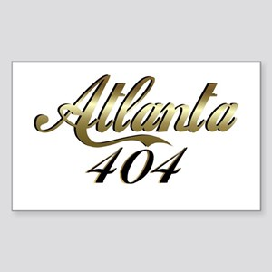 Atlanta 404 Rectangle Sticker