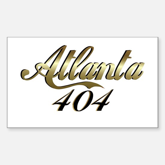 Atlanta 404 Rectangle Decal