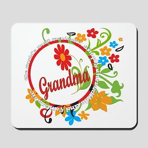 Wonderful Grandma Mousepad